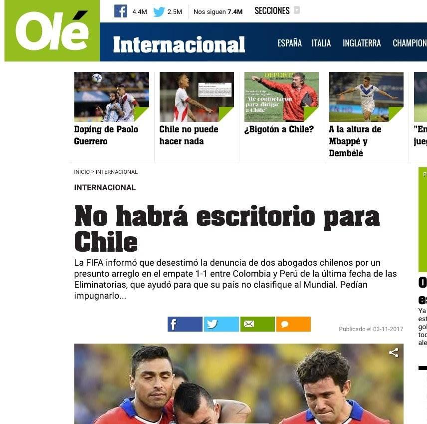 La prensa del mundo y el impacto por la noticia del positivo de Guerrero