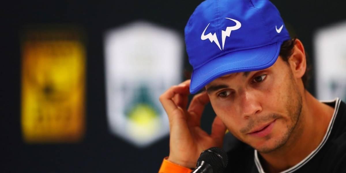 Rafael Nadal abandona el Masters 1000 de París