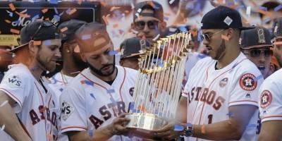 Festejo de los Astros de Houston