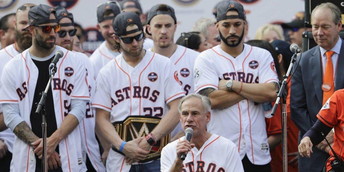 En duda la visita de los Astros a la Casa Blanca