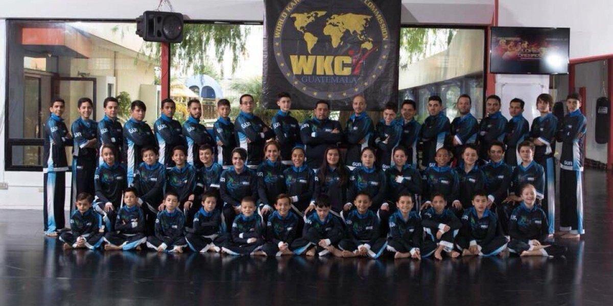 Guatemala lleva a sus mejores competidores al Campeonato Mundial de WKC