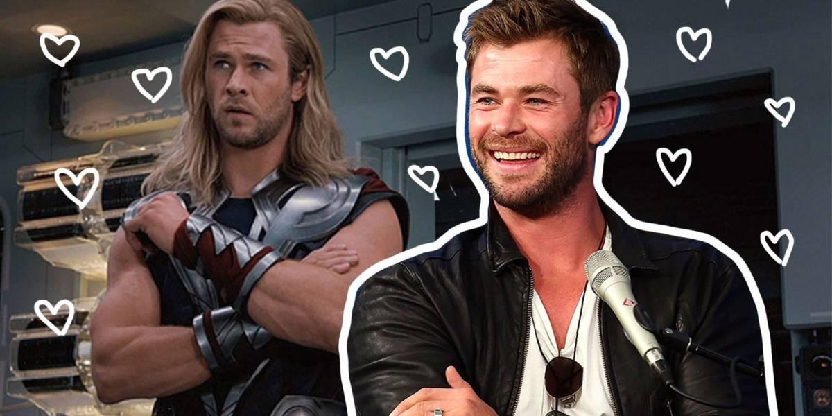 Así ha sido la sensual evolución de Chris Hemsworth