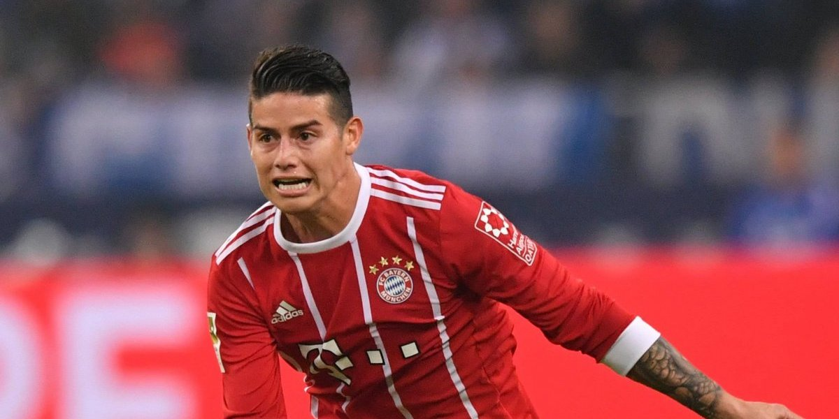 James lidera al Bayern contra el Augsburgo