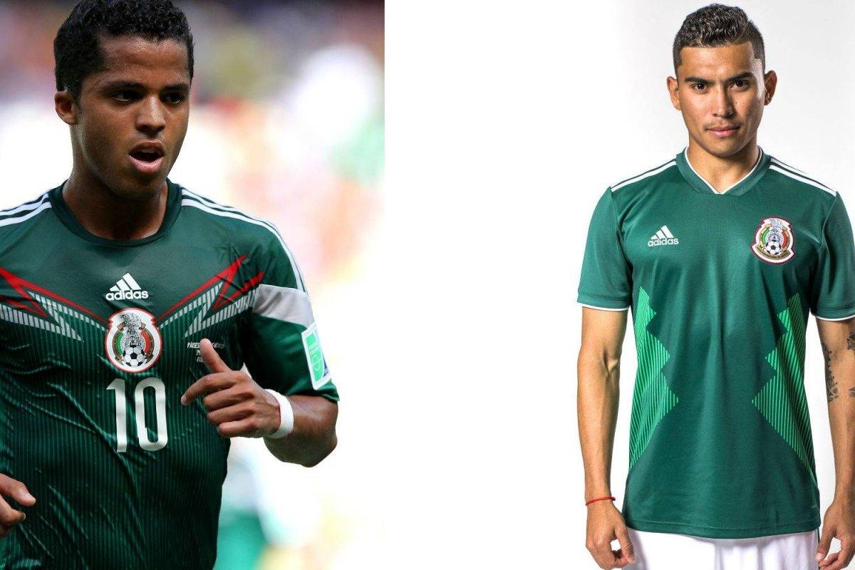 2860200f077a5 Las diferencias del nuevo jersey del Tri con el mundialista del 2014 ...