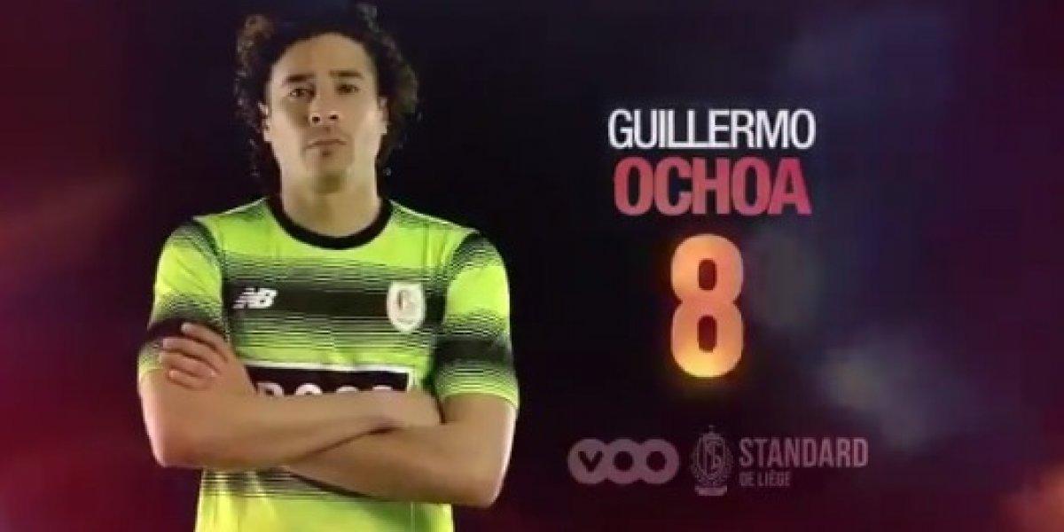 Ochoa tuvo una buena actuación, pero Lieja perdió ante el Gent