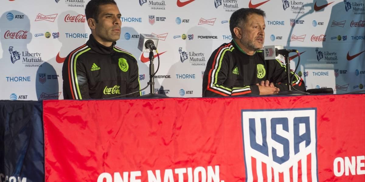 Rafael Márquez sí está considerado por Osorio para ir al Mundial