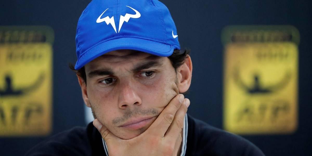 Com lesão no joelho, Nadal abandona Masters de Paris e é dúvida para o ATP Finals