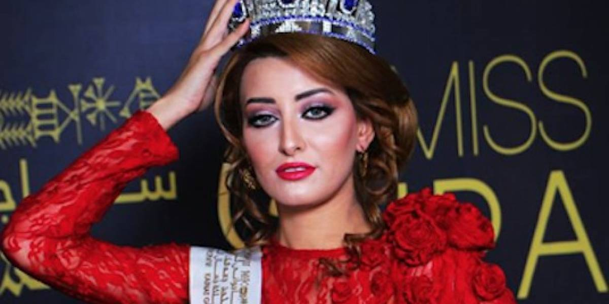 Tras 45 años: Iraq tiene representante para el certamen de belleza Miss Universo