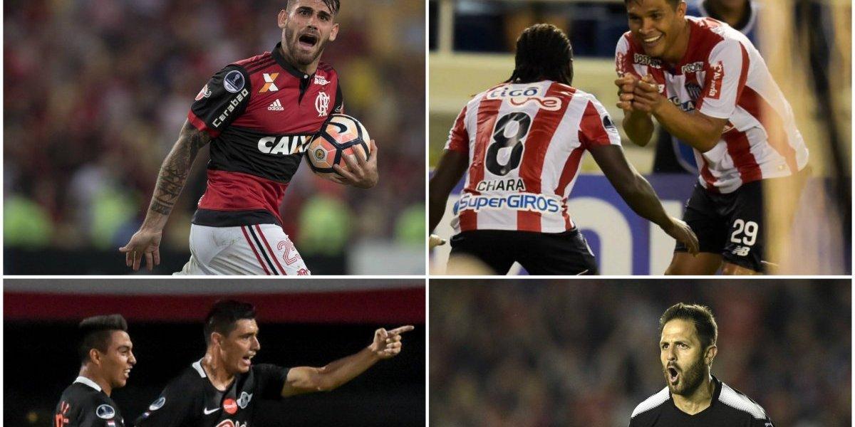 Paolo Guerrero no estará en Flamengo: Así se jugarán las semifinales de la Copa Sudamericana