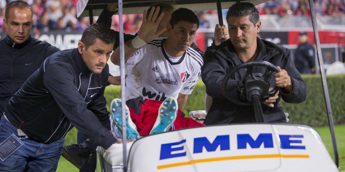 Seis meses fuera para Óscar Ustari, tras operación en la rodilla