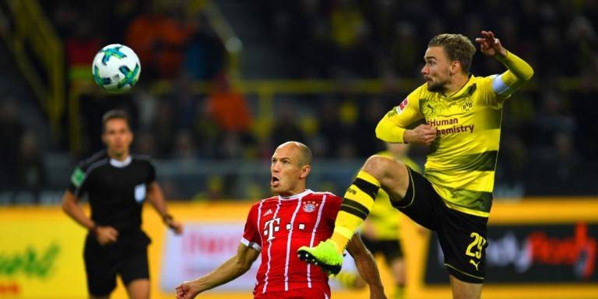 Minuto a minuto: El Bayern Munich derrota al Dortmund con Vidal como suplente