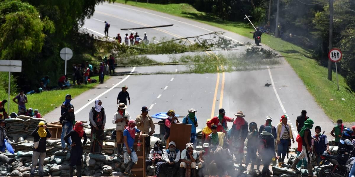 Llamado de Defensoría del Pueblo a los indígenas para no usar explosivos en protestas