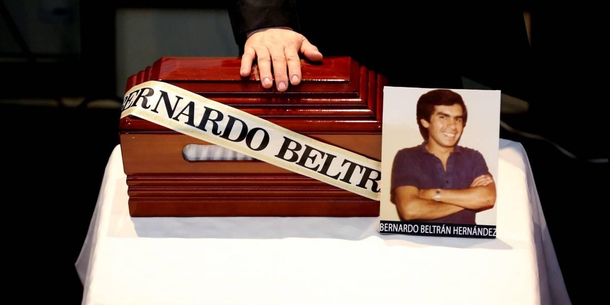 Medicina Legal entregó restos de Bernardo Beltrán, desaparecido en el Palacio de Justicia