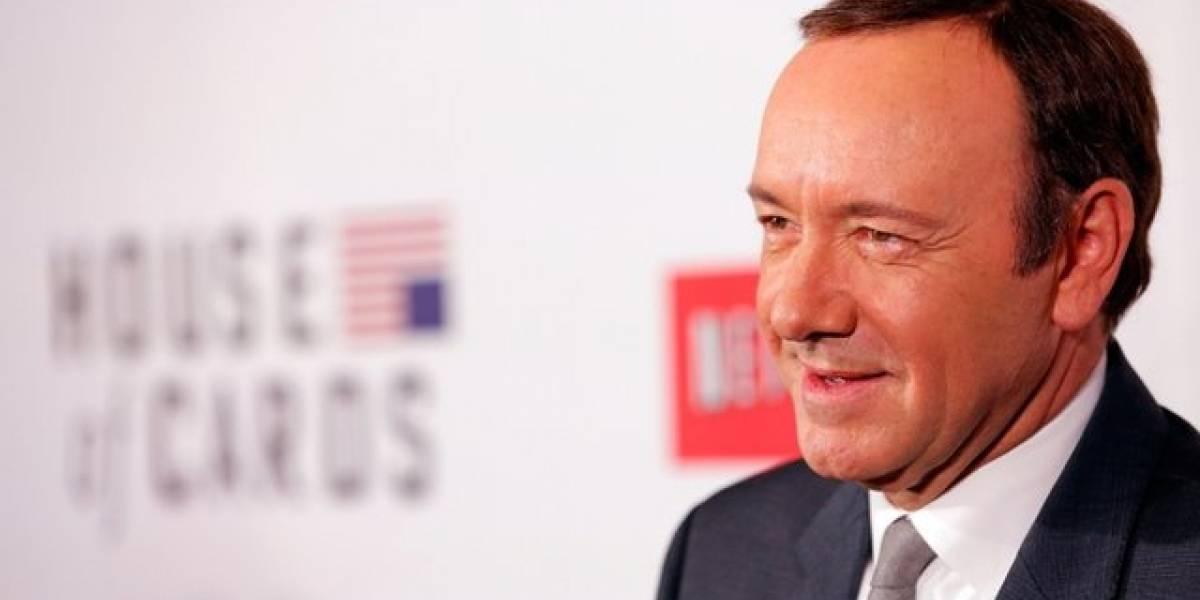 Netflix rompe con Kevin Spacey en medio del escándalo por abusos sexuales