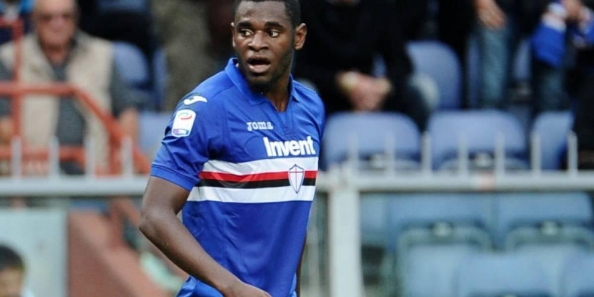 Video: Zapata llega a 'la Tricolor' en forma, puso 2 asistencias en el clásico de Genova