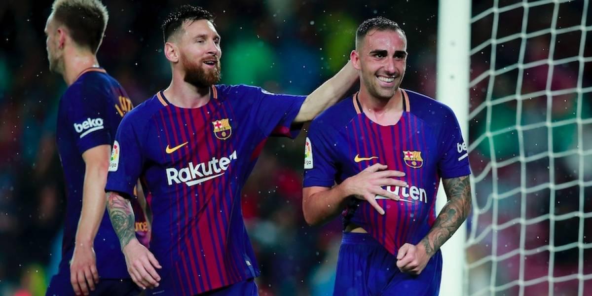 Con doblete de Alcácer el Barcelona se impone ante Sevilla