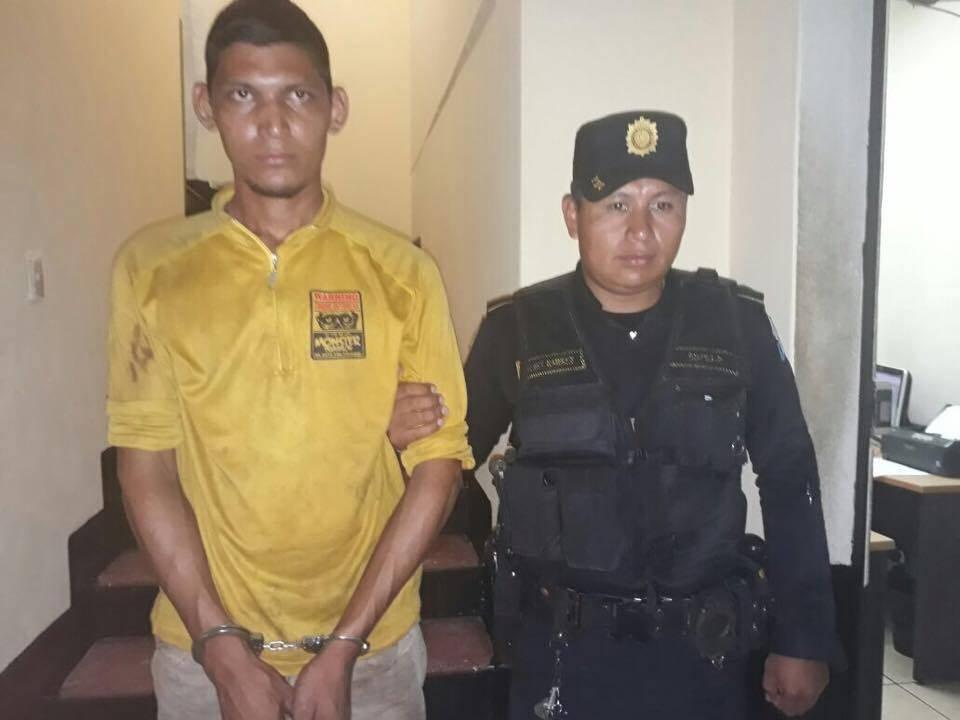 Capturado por herir con machete a dos personas en Escuintla