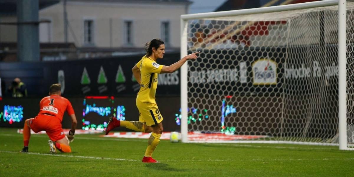 Cavani e Mbappé marcam dois gols cada e PSG goleia o Angers pelo Francês