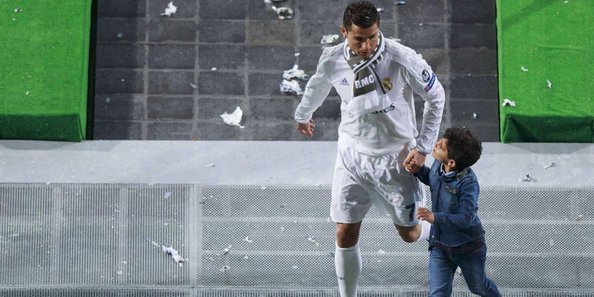 VIDEO: Vaya golazo del hijo del Cristiano Ronaldo