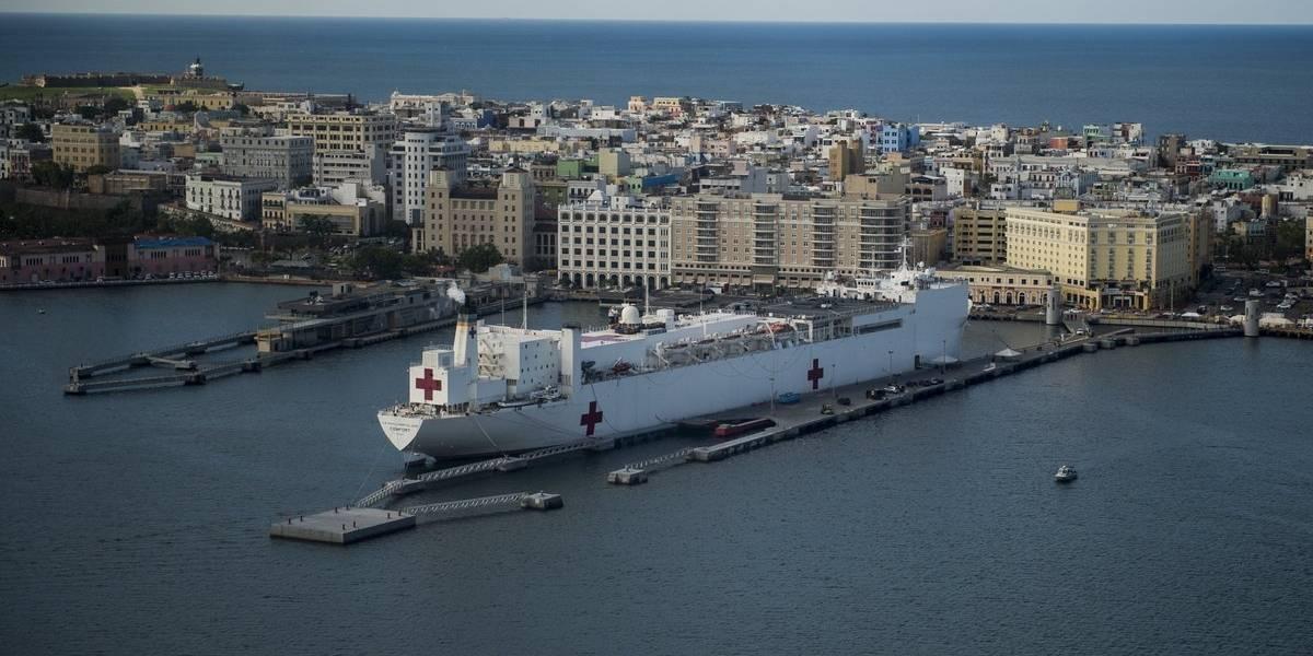 USNS Comfort zarpará para reabastecer suministros médicos