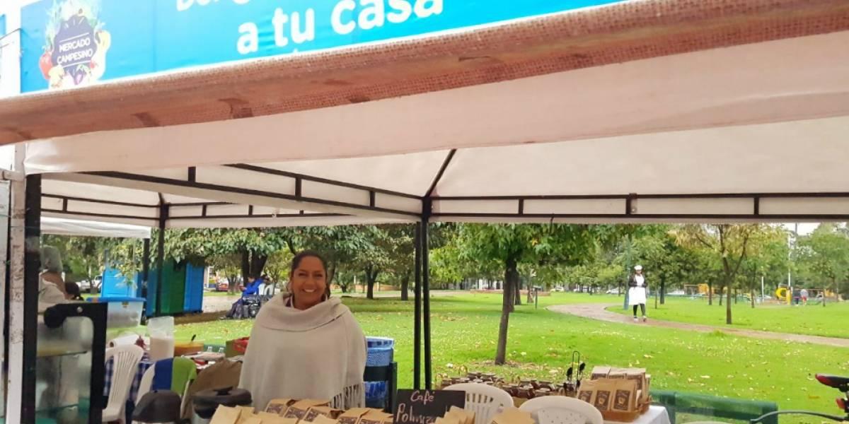 Vuelve el mercado campesino este fin de semana a cuatro localidades de Bogotá