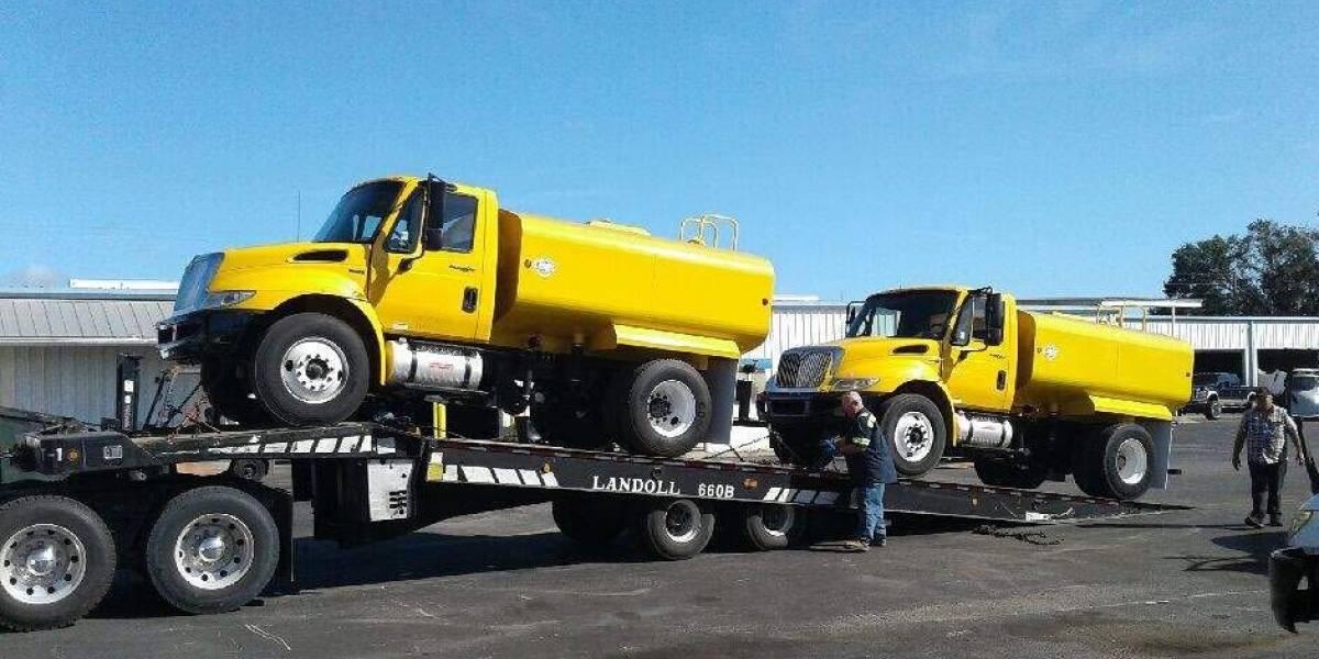 Llegan a Morovis camiones cisternas de EEUU antes que agua de la AAA