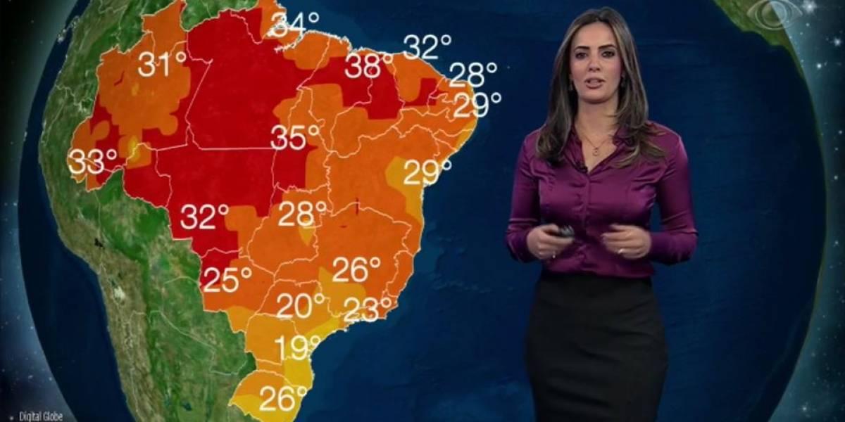 Domingo terá frente fria em parte do Sudeste