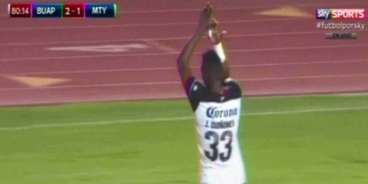 Julián Quiñones recordó su pasado y dedicó gol a la 'Libres y Lokos' de Tigres