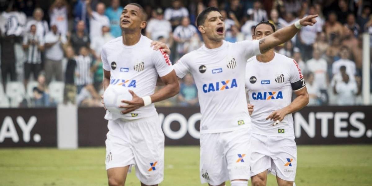 Santos bate o Atlético-MG e volta a se aproximar do líder Corinthians