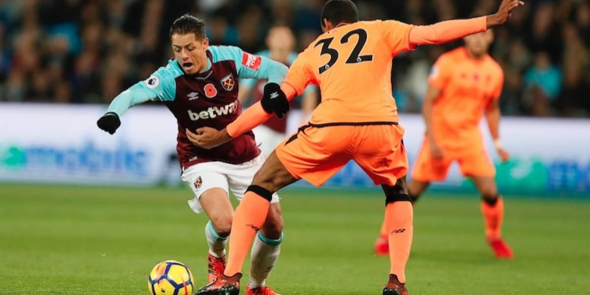 'Chicharito' y West Ham sufren humillación del Liverpool en casa