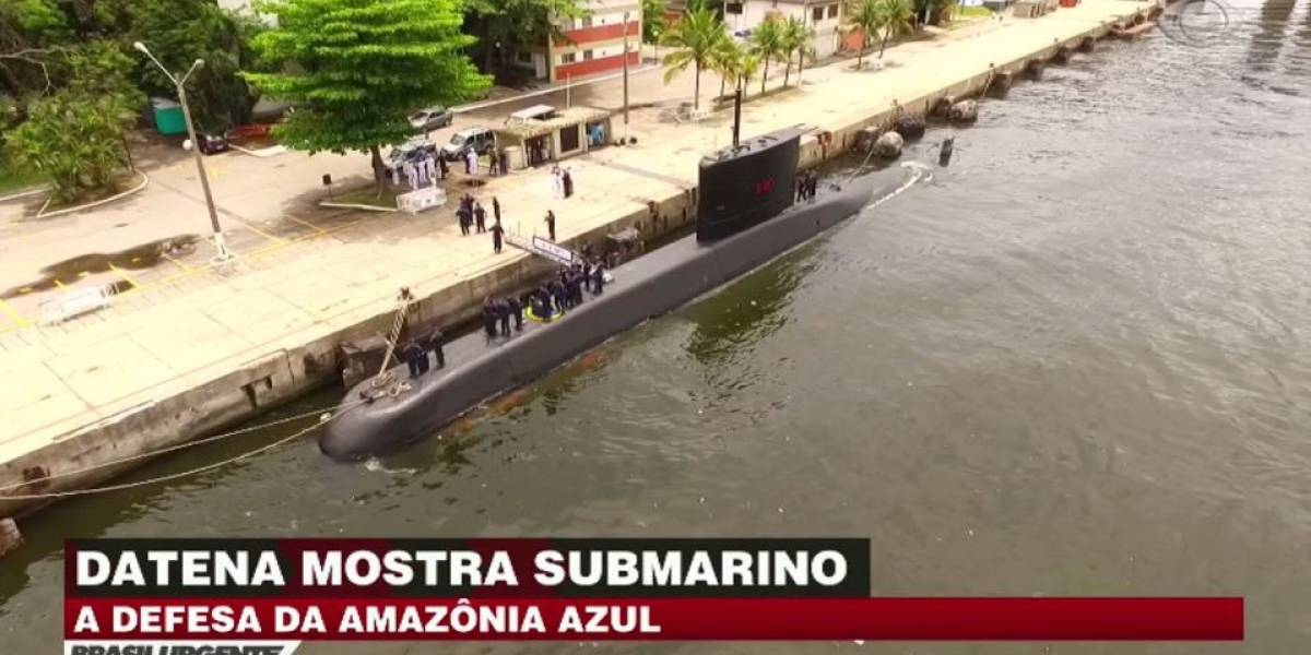 Veja a construção do primeiro submarino nuclear do Brasil