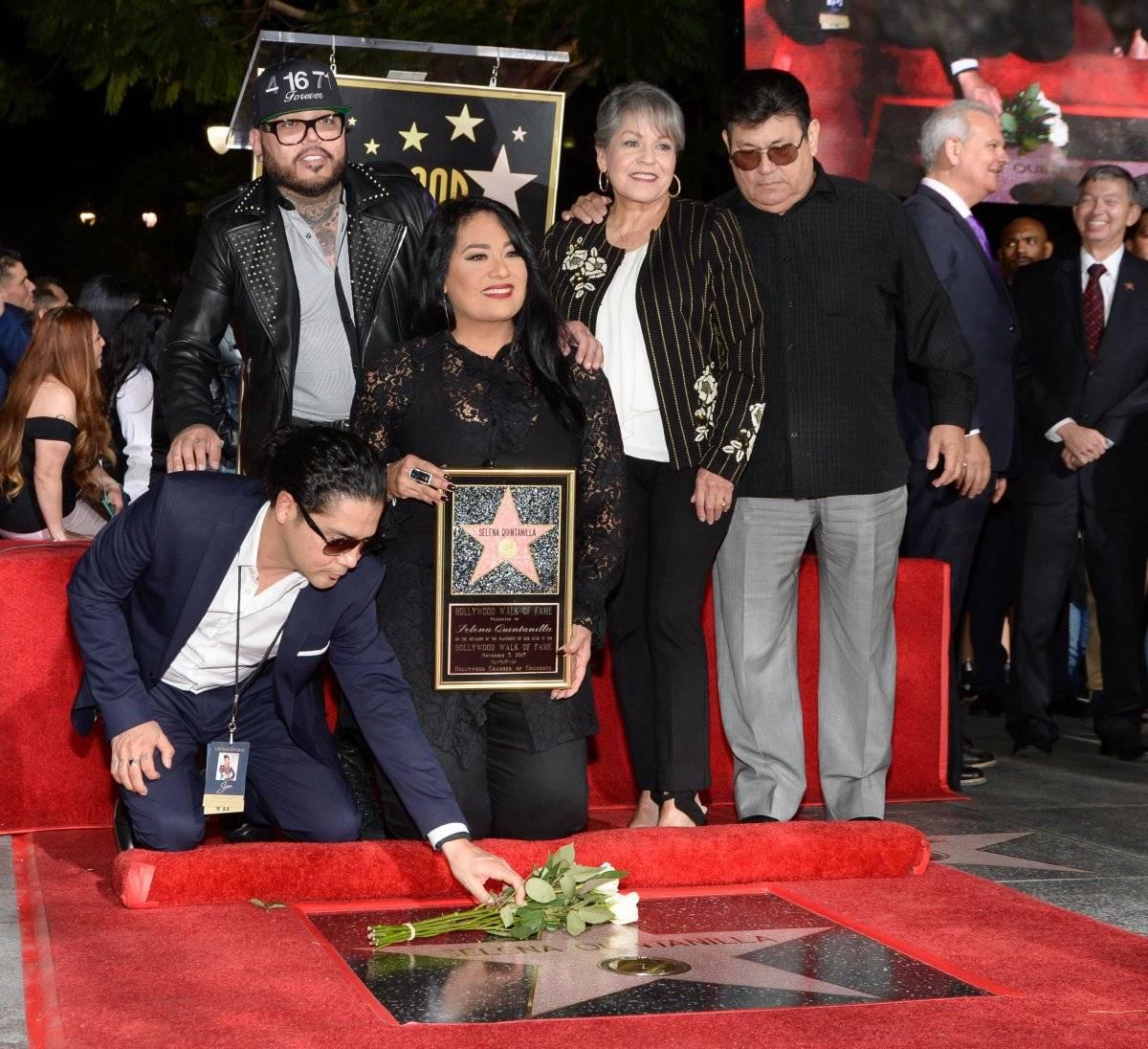 Selena Quintanilla en Paseo de la Fama
