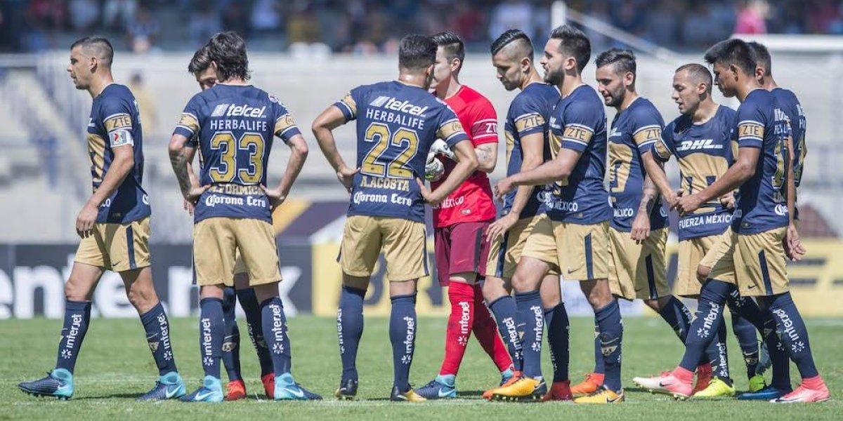 Pumas se despide de CU con un empate ante Santos