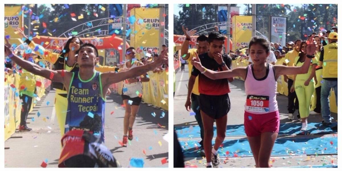 González y Monterroso conquistan las calles de Quetzaltenango