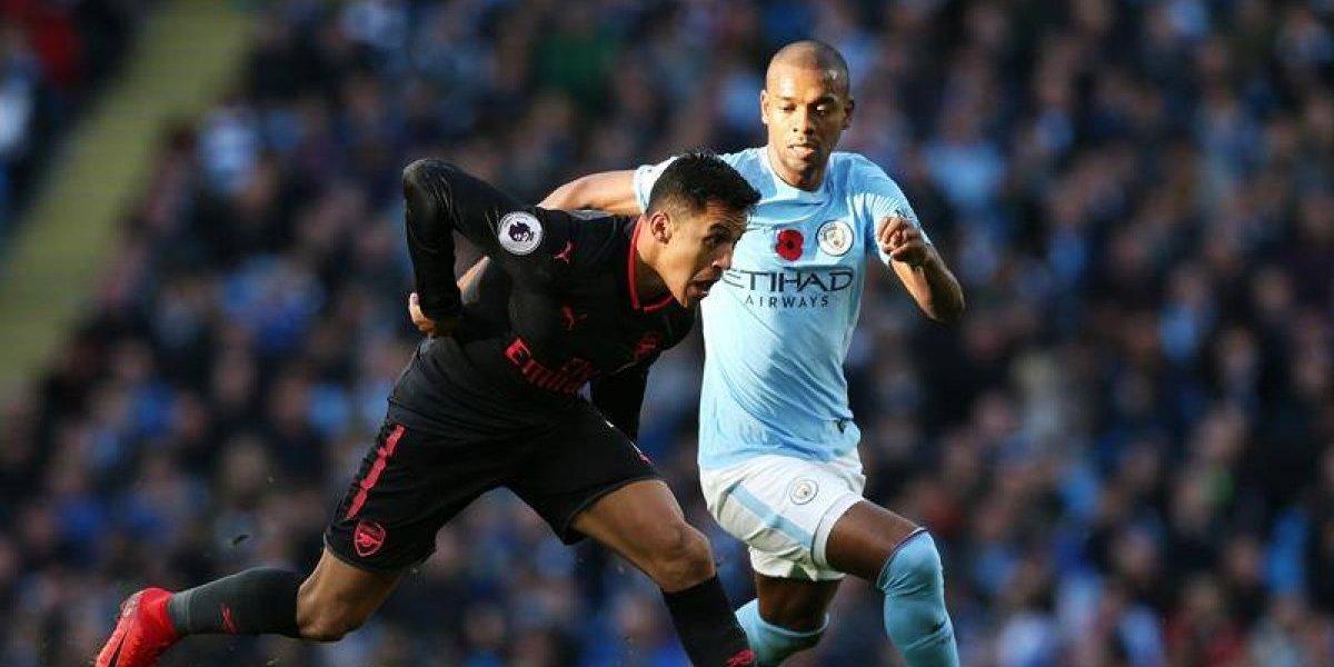 Minuto a Minuto: Alexis Sánchez no puede evitar la derrota del Arsenal ante Manchester City