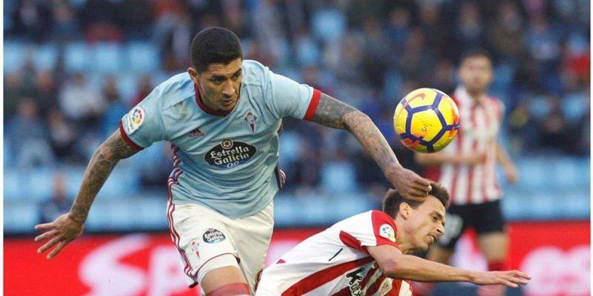 Tucu Hernández y el Celta vencen al Athletic y se ilusionan con la Europa League