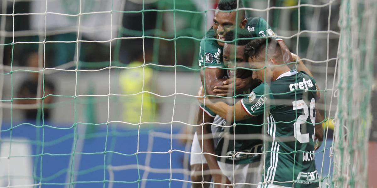 ¡Volvió Yerry! Mina anotó en su primer partido de regreso al Palmeiras