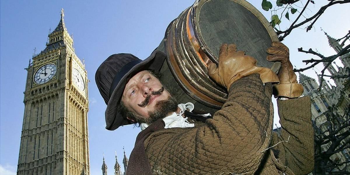 ¿Quién fue Guy Fawkes, el hombre que los ingleses queman todos los 5 de noviembre?