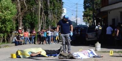 Asesinato en Santa Lucía Milpas Altas