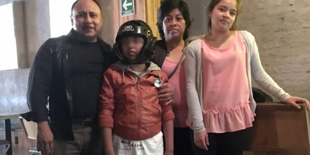 Gael Santiago, el niño que enfrenta la epilepsia con cannabidiol