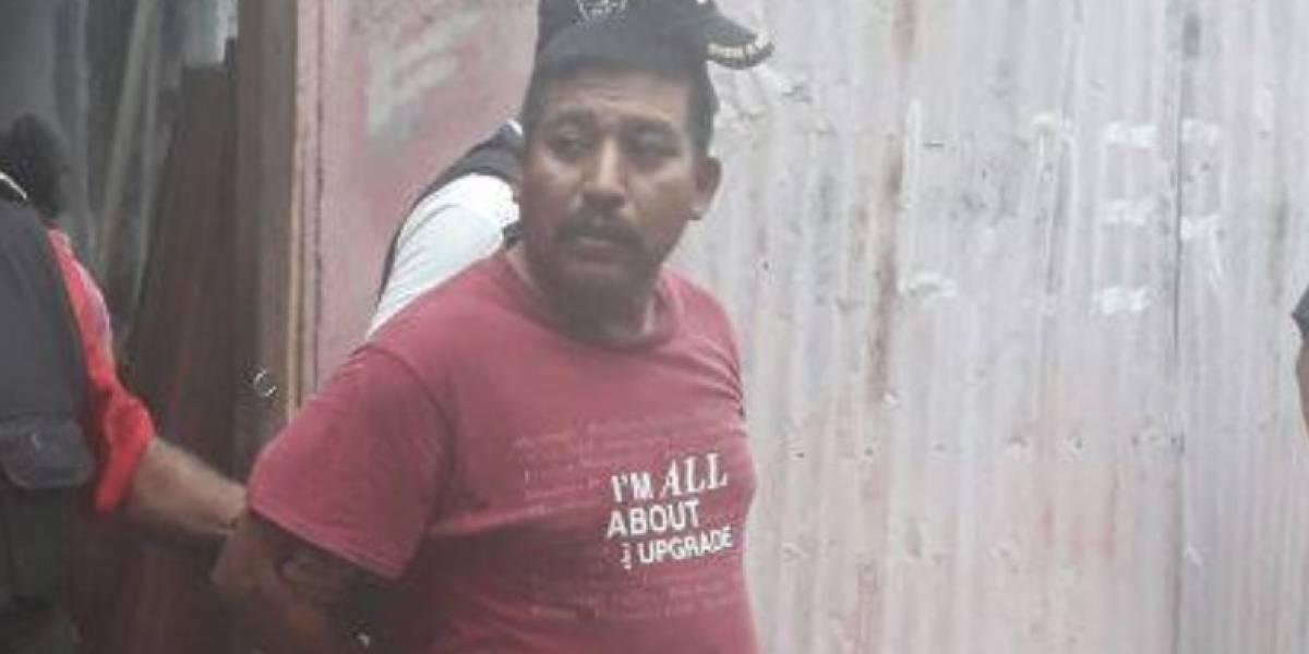 Capturan a hombre que habría asesinado a su pareja y a su hijastra