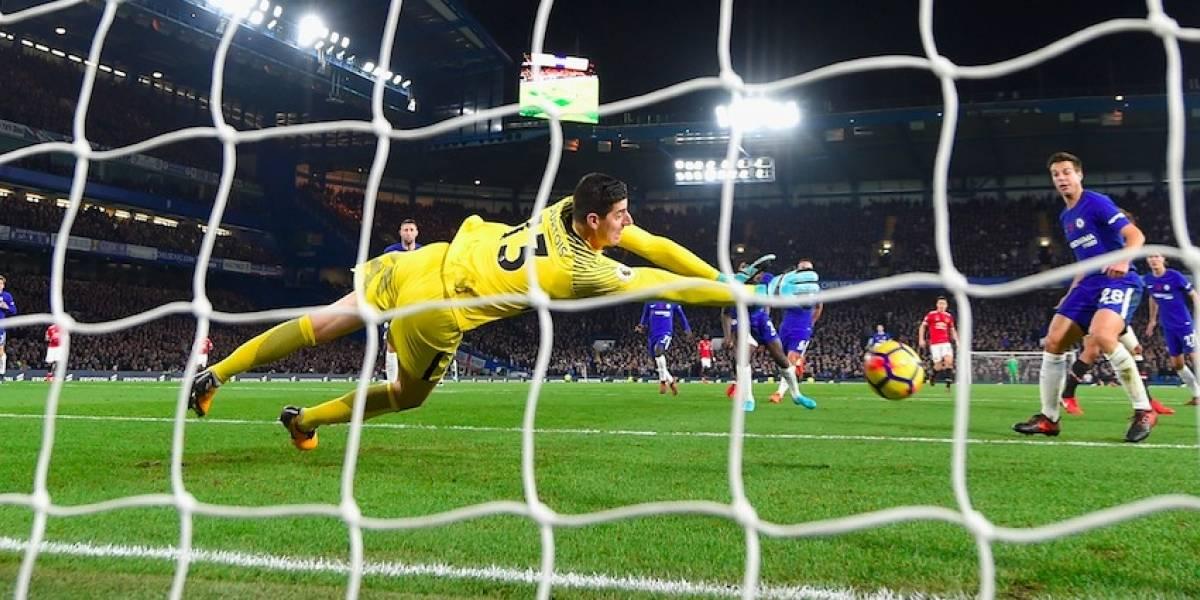 Morata consigue el triunfo para Chelsea ante Manchester United