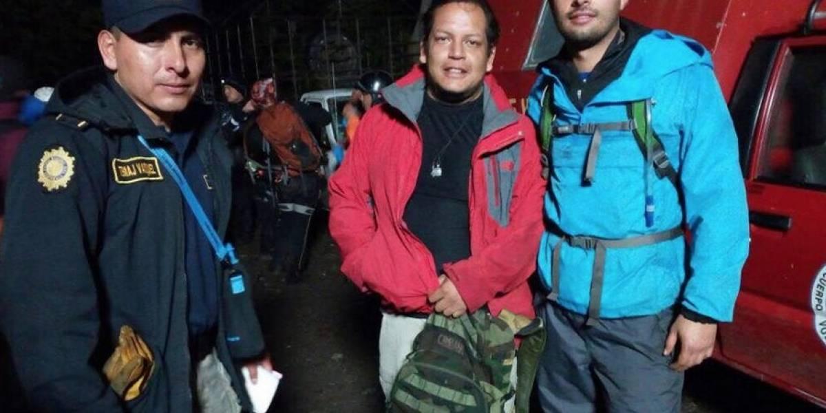 Después de cuatro horas perdidos, rescatan a turistas en el volcán Atitlán