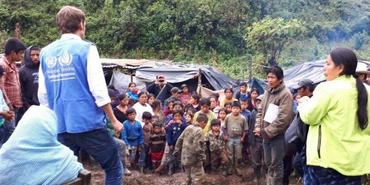CIDH otorga medidas cautelares a la PDH para proteger a familias desalojadas de Izabal