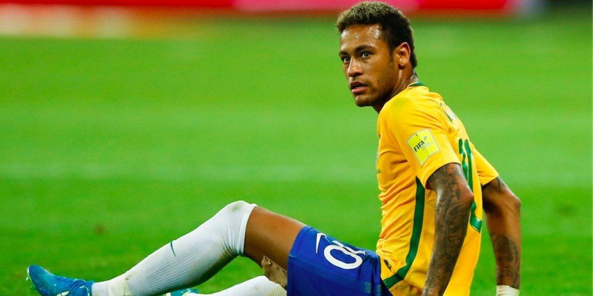 Neymar, duda para el amistoso de Brasil ante Japón