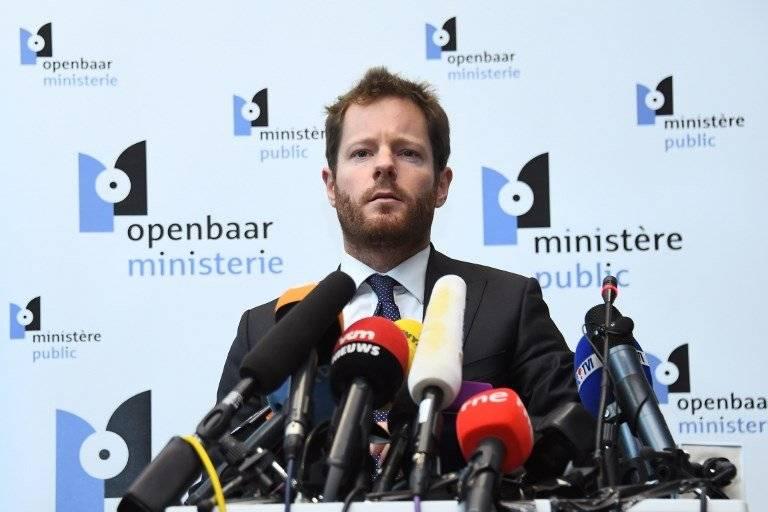 Gilles Dejemeppe, portavoz de la fiscalía federal en Bruselas