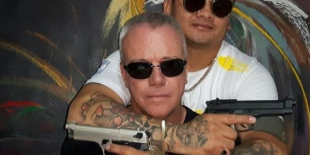 Polémica foto del exboxeador argentino junto al exjefe de sicarios de Pablo Escobar