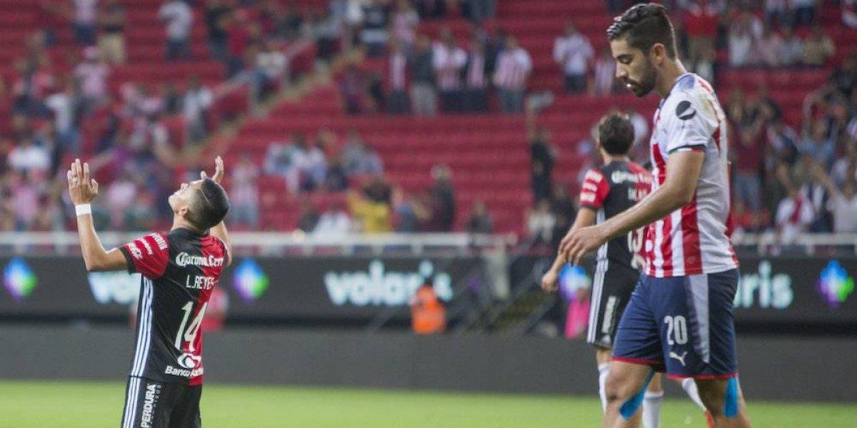 Chivas pierde el Clásico Tapatío frente al Atlas