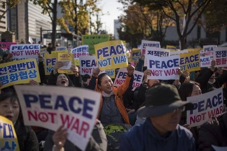 Piden paz en Asia