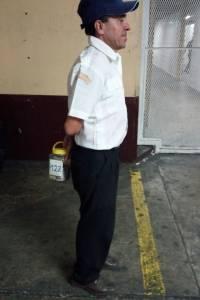 Falso bombero voluntario